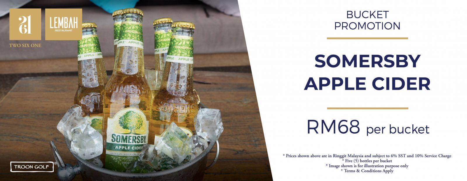 bucket promotion somersby