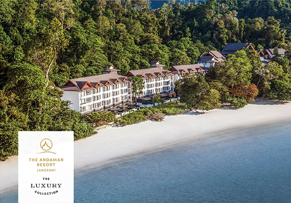 The Andaman resort on Langkawi Island