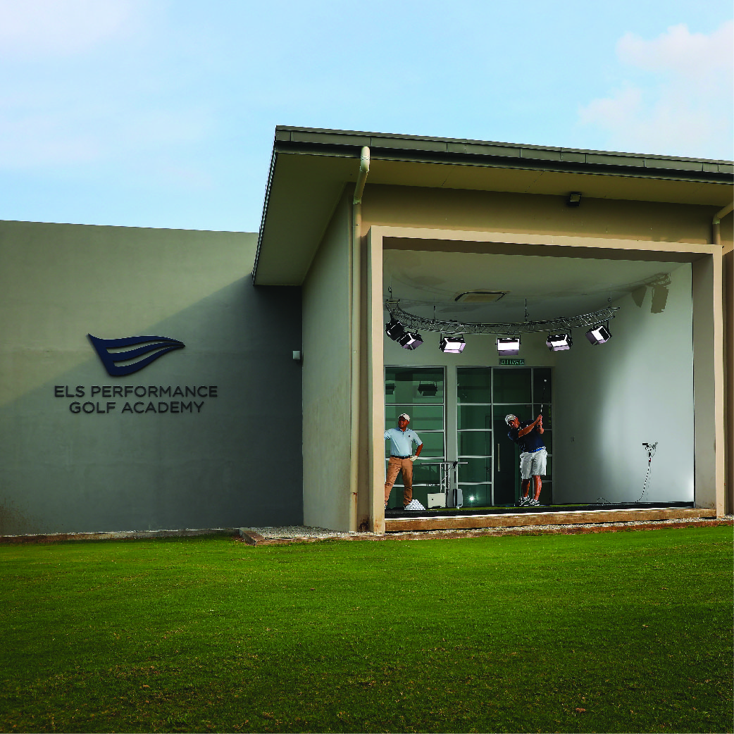 Practice facility at The Els Performance Golf Academy