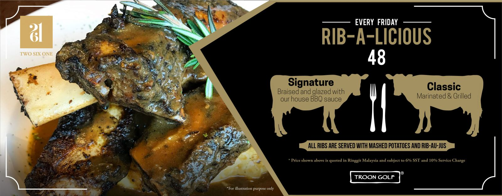 every friday rib-a-licious